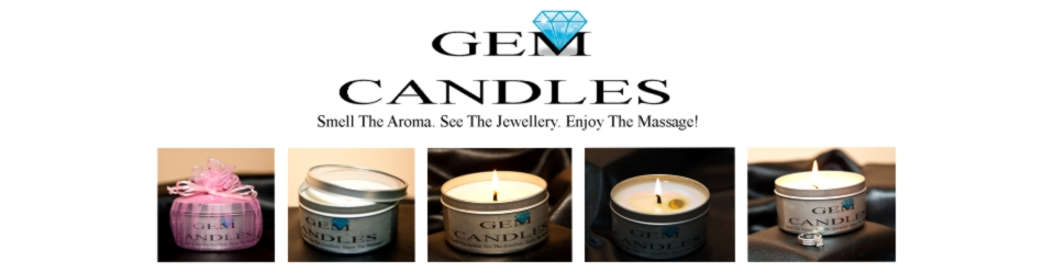 Gem Candles. Jewelery In A Candle!
